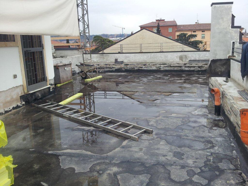 Terrazzo impermeabilizzato in poliurea impermeabilizzazioni con poliurea - Impermeabilizzazione terrazzi esistenti ...